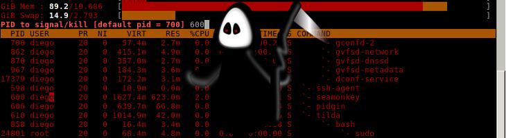 Señales y cómo terminar procesos en GNU/Linux