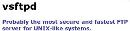 ftp vsftpd bug 500 error solved linux gnu debian wheezy