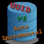 UUID vs autoincremental como clave primaria