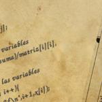 Eliminación Gaussiana - Algoritmos antiguos