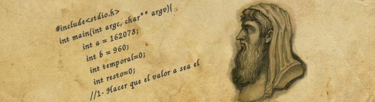 Algoritmo de Euclides – Algoritmos antiguos