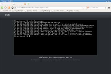 tmate: compartiendo la terminal en Internet