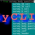 MyCLI: Cliente de terminal para MySQL con autocompletado