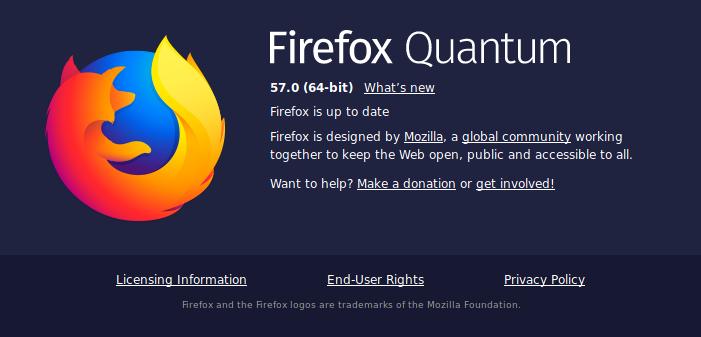 firefox mozilla browser freedom privacy privacidad libertad quantum internet health internethealth