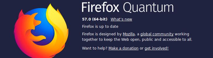 Firefox Quantum, Mozilla y la Internet abierta