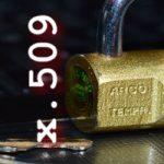 x509: Certificados digitales y codificaciones DER, CRT y CER