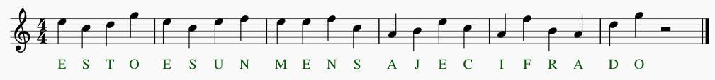 Ejemplo del Método de Francis Poulenc