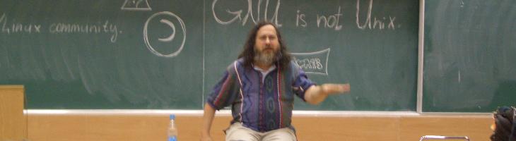 rms, stallman, gnu, fsf, software libre, free software,