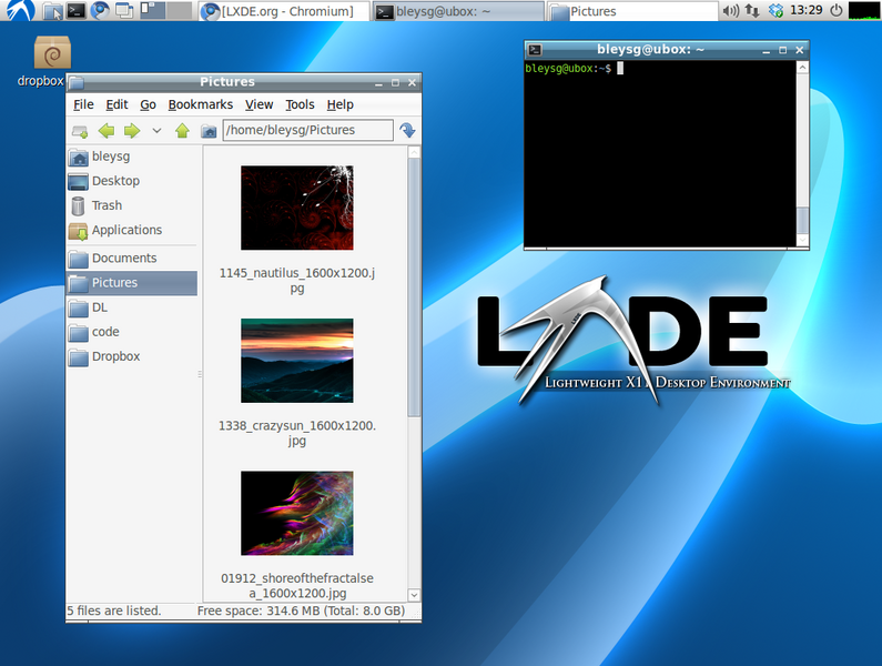 lxde-menu lxde menu application desktop
