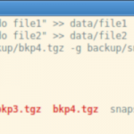 TAR y los backups incrementales en GNU/Linux